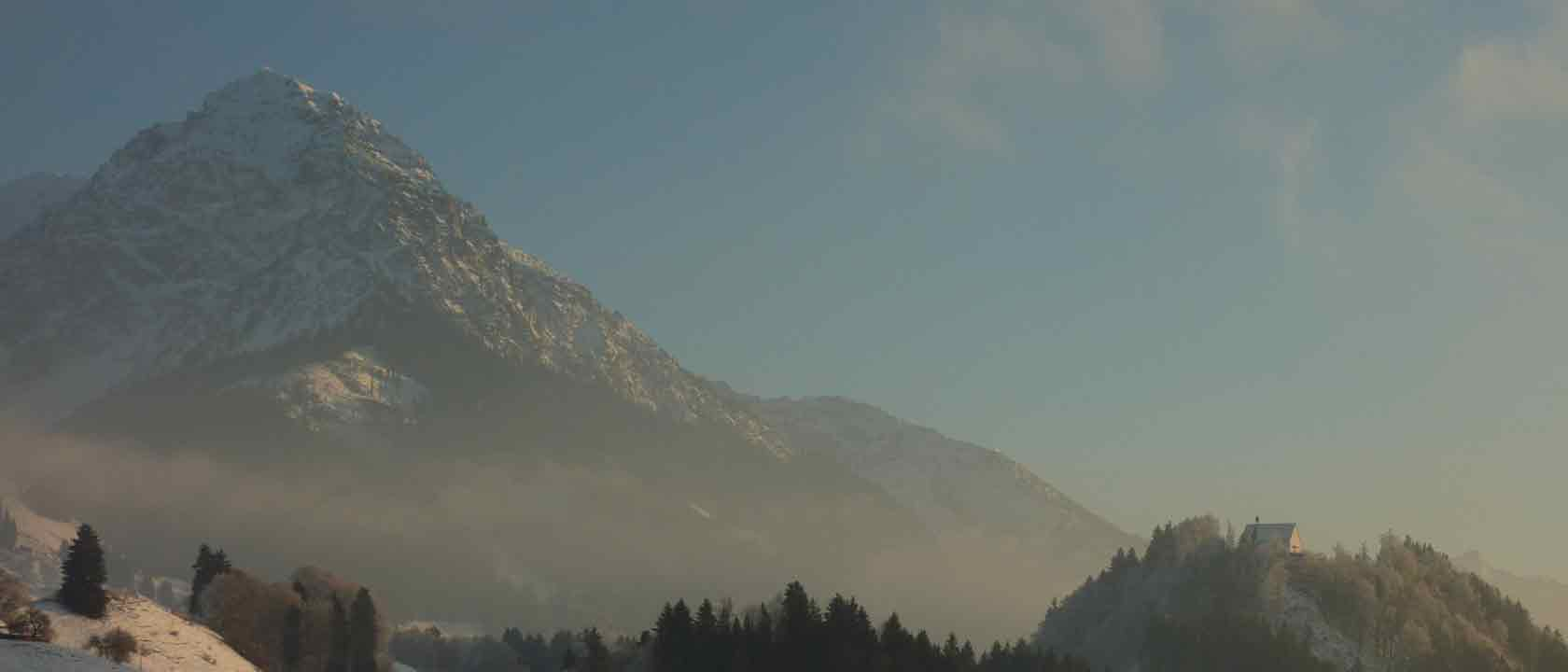 Rubihorn im Winter